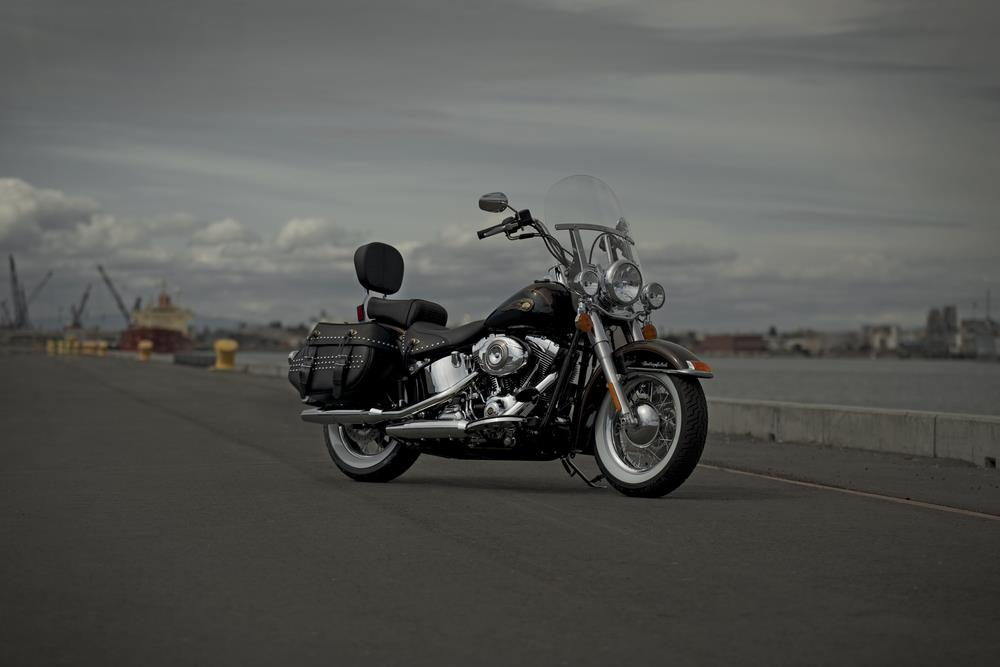 Auto and Cycle  110th Anniversary Heritage Softail Classic.