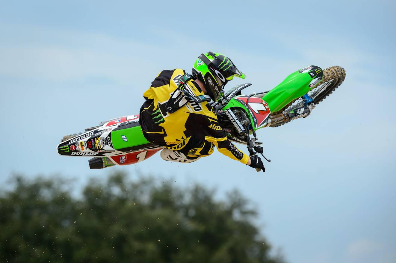 Motorsports  Ryan Villopoto's 2013 colors!
