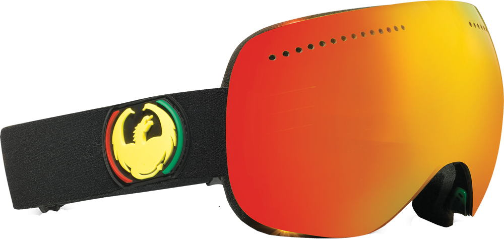 Ski Dragon Advanced Projects X Goggle has a minimalist style.  Bonus Yellow Blue lens included    $200
