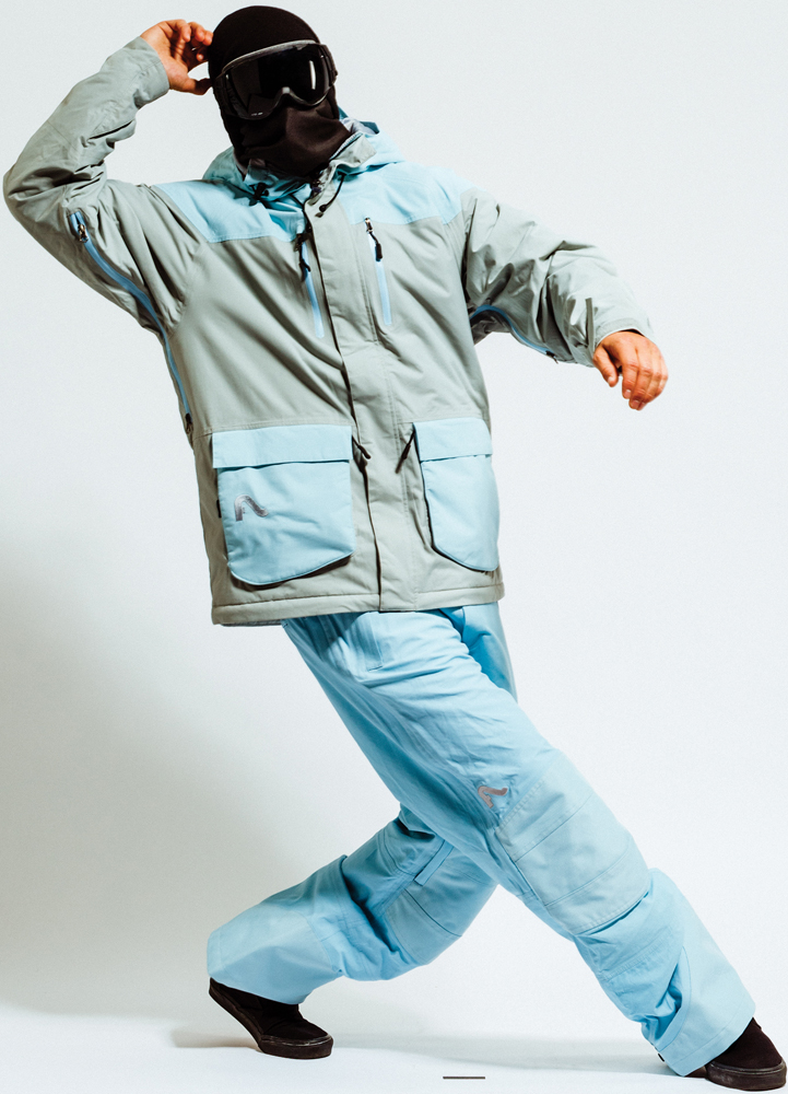 Snowboard Flylow BA Puffy Jacket and Flylow Chemical Pant   $290