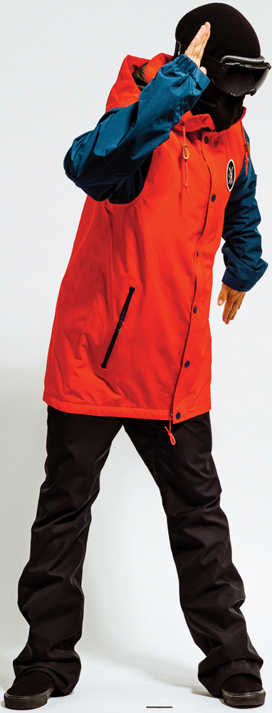 Ski Holden Coaches Jacket and Holden Mountain Chino Skinny Pant    $200