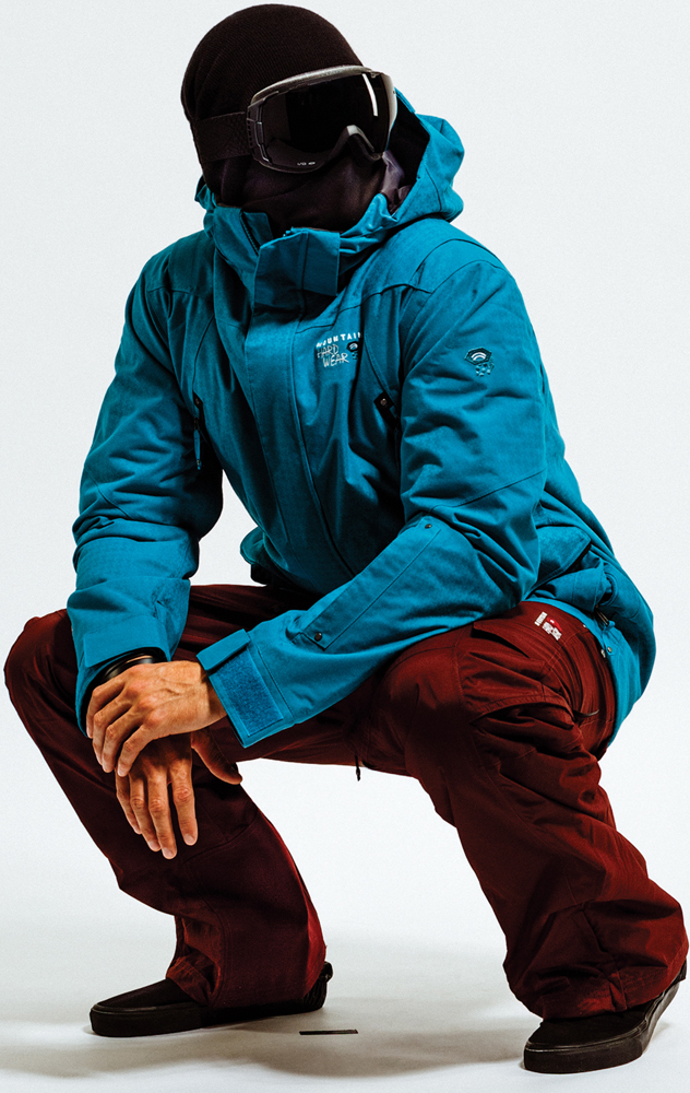 Ski Mountain Hardwear Artisan Jacket and Mountain Hardwear Bomber Cargo Pant