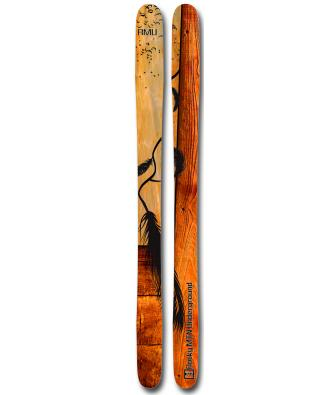 Ski RMU The Northshore (2013) is named for the Northshore backcountry area off Jackson Hole full of deep powder    $850