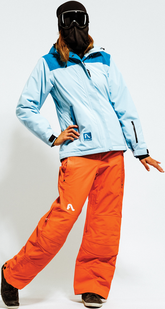 Ski Flylow Dolce Vita Jacket and Flylow Bella Donna Pant for Women
