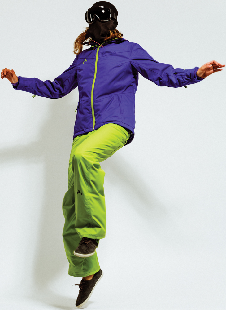 Ski Powderhorn Linda Jacket and Powderhorn Calamity Pant for Women