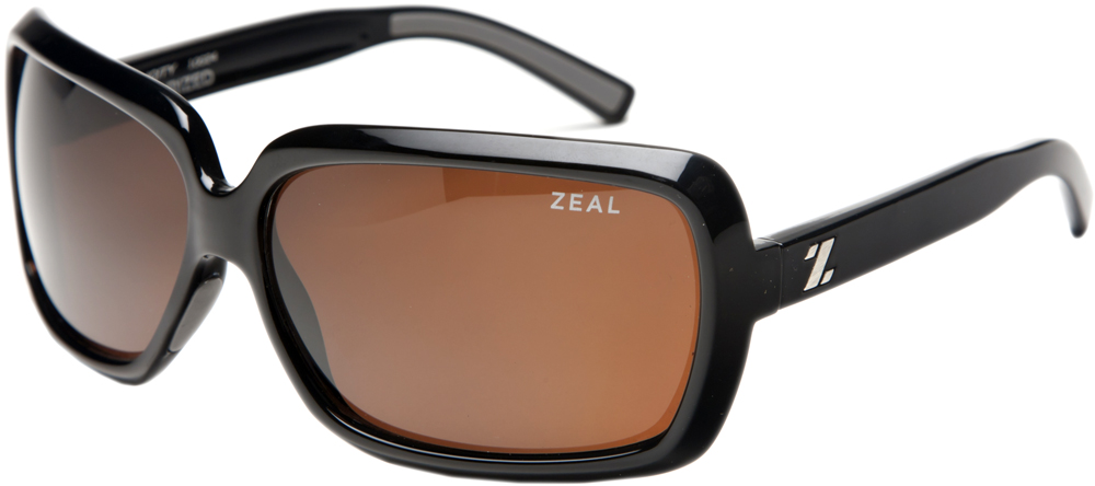 Ski Zeal Felicity Sunglasses for Women have hyplallergenic ProFlex rubber on the nose and arms for stability     $99