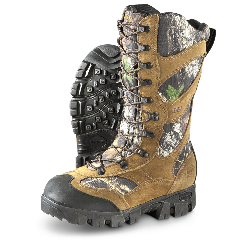 GUIDE GEAR GIANT TIMBER 2 MEN INSULATED WATERPROOF HUNTING BOOTS