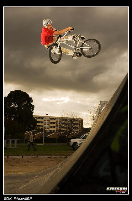 BMX Malcolm Peters