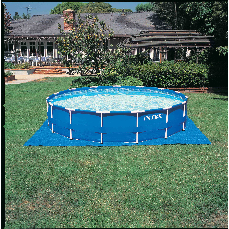 Intex Metal Frame Pool Set 15\' x 48 inch - $269.99 - Thrill On