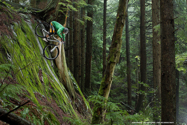 MTB wade simmons on vancouver's north shore