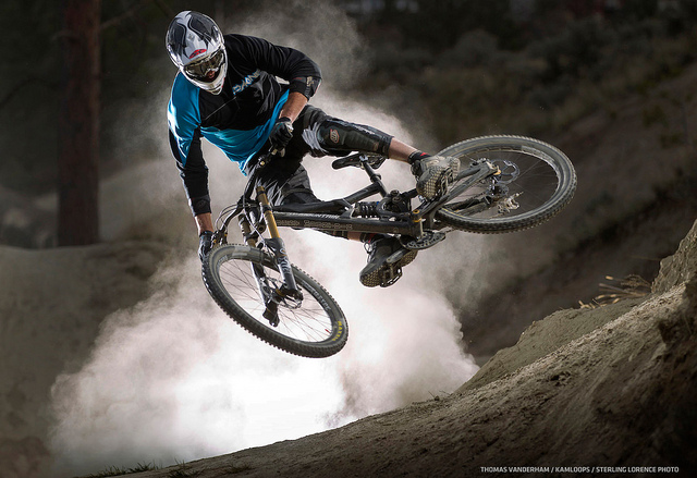 MTB thomas vanderham in kamloops, bc