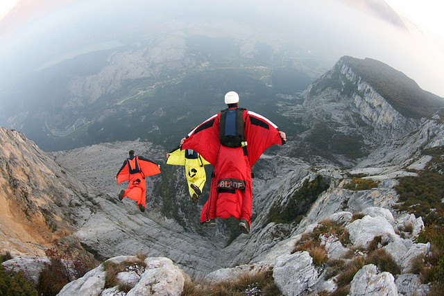 Extreme Brento wingsuit Exit Italy!!!!