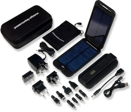 Camp and Hike Powertraveller Powermonkey Extreme Solar Battery Charger