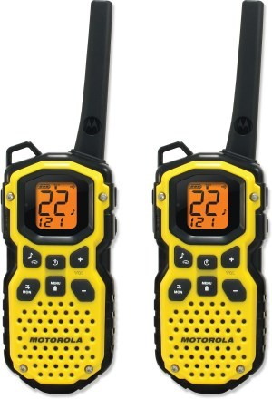 Camp and Hike Motorola Talkabout MS350R 2-Way Radios - 2 Pack