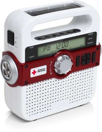 Camp and Hike Eton American Red Cross Solarlink FR370 Radio
