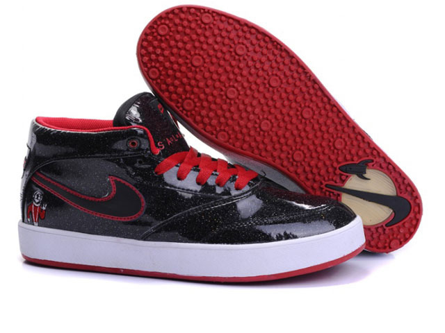 Skateboard nike Zoom Omar Salazar skate shoes USA black red