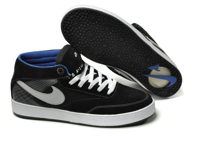 Skateboard nike zoom omar salazar skate shoes USA black white blue