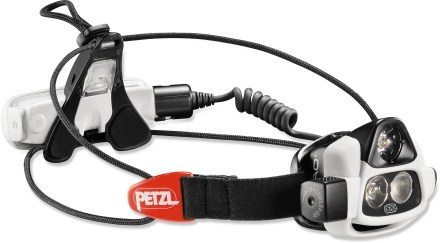 Camp and Hike Petzl NAO Headlamp has sensor to automatically adjust beam pattern and light output
