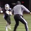 High School Referee Lays Massive Hit on Running Back