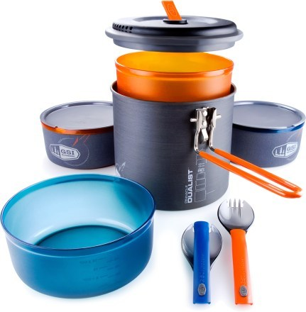 Camp and Hike GSI Outdoors Pinnacle Dualist Ultralight Cookset