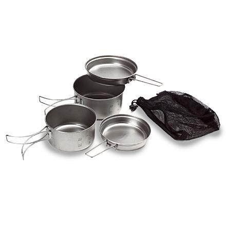 Camp and Hike Snow Peak Titanium Multi Compact Cookset