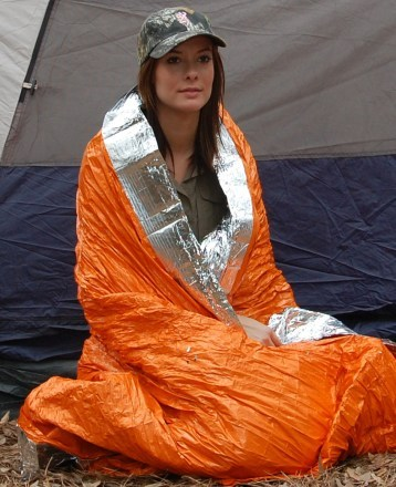 Camp and Hike Blizzard Survival Blanket