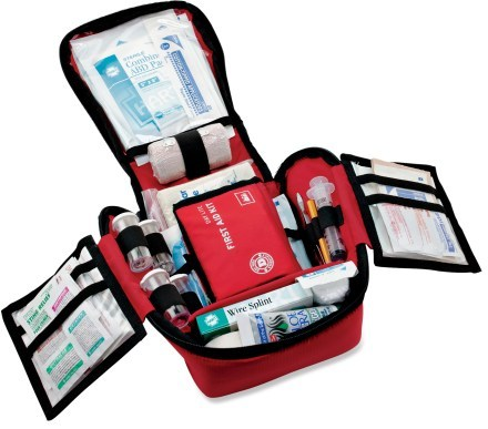 Camp and Hike REI Backpacker Plus Extended First-Aid Kit