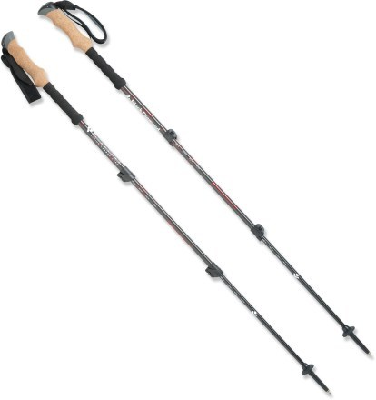 Camp and Hike Black Diamond Alpine Carbon Cork Trekking Poles - Pair