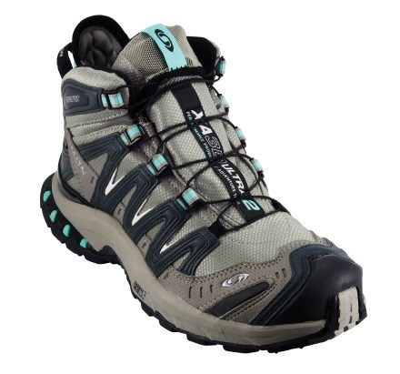 Camp and Hike Salomon XA Pro 3D Ultra Mid 2 GTX Hiking Shoes - Women's