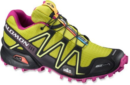 Camp and Hike Salomon Speedcross 3 CS Trail-Running Shoes - Women's