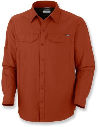 Camp and Hike Columbia Silver Ridge Shirt - Men's