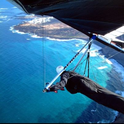 Extreme I hope to go hang gliding soon! The only place I think in Fl is in Orlando with an Aerotow.