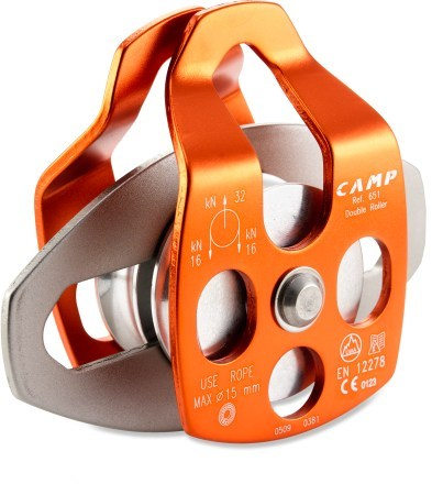 Climbing C.A.M.P. USA Large Mobile Double Pulley - Ball Bearings