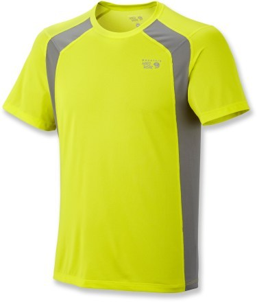 Fitness Mountain Hardwear Wicked Lite Double T-Shirt - Men's