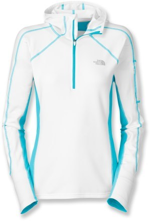 Fitness The North Face Impulse Quarter-Zip Hoodie - Women's