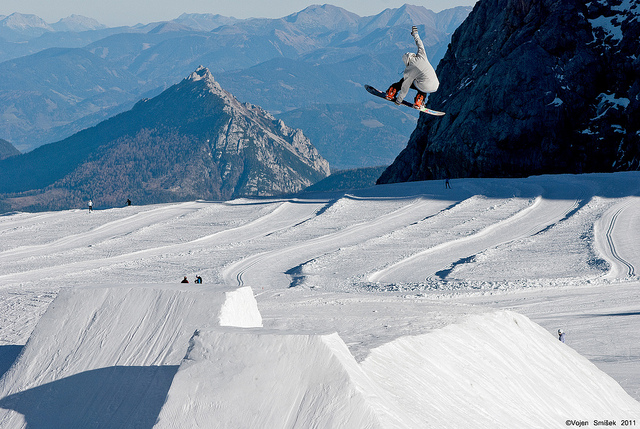 "Snowboard ""Fly High"""