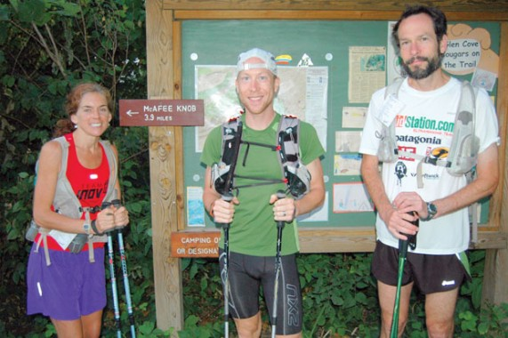 Fitness The Tour of Virginia is a 550-mile run across the commonwealth on the Appalachian Trail