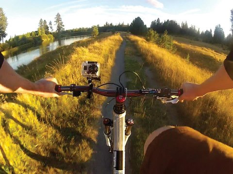 "MTB ""Think it. See it. Do it...GoPro!"""