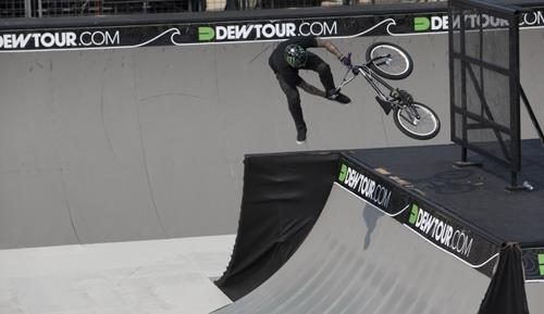 BMX oppo Downwhip Mid run Dew TOUR 2012
