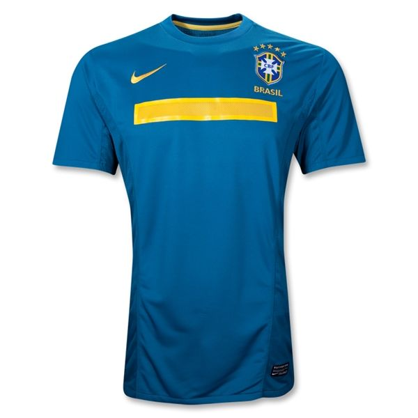 Entertainment Youth Brazil Away Soccer Jersey 2011/2012