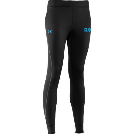 Fitness The cozy and efficient Under Armour Women's Base 3.0 Legging provides lean insulation for full-on cold-weather action. With four-way stretch that lets you squat, kick, or throw a wide-open spread, this tight will never hold you back. And with quick-drying, odor-resisting powers, you'll stay fresher through a high-intensity workout. Flatlock, ergonomically placed seams and a performance waistband give you tons of smooth-operating comfort, so you can kick back in this tight for an unhurried aprs session. - $74.95