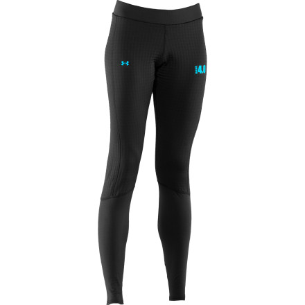Camp and Hike It may be heavyweight, but the cozy Under Armour Women's Base 4.0 Legging feels efficiently light, stretchy, and smooth against your skin. This insulating tight delivers four-way stretch for unhindered mobility, quick-drying comfort, and odor-resistant convenience. Flatlock, ergonomic seams keep things lean and chafe-free, while a performance waistband resists binding or bunching. Blast down the mountainside in this thermal when the snow is stacked, and then take it to the hiking trails when the melt comes, because you're going to need those quad muscles next season. - $59.47