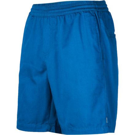 Surf What happens when a pair of old-school volley shorts and your favorite chinos make a love child' The Volcom Frickin Elastic Short, that's what. - $39.45