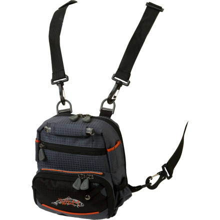 Flyfishing Instead of trying to cram gear in your waders' pockets, grab the Wright & McGill Co. Rock Creek Micro Pack. Made with durable fabric, this stellar chest pack has more than enough room to store everything you need and keep it organized while you wade. - $29.97