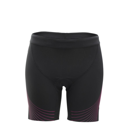 Fitness Think of everything that you need in a pair of triathlon shorts. If you're like us, comfort, hydrodynamics, and speed topped your list. And not surprisingly, these characteristics rank highly with Zoot as well. So, Zoot created the Ultra Tri Speed 6in Women's shorts to embody the aforementioned. Starting with the bulk of the Ultra Tri Speed shorts' construction, Zoot used its venerable ULTRArevo with an HP Speed Finish. We'll break this title down into two categories, given that ULTRArevo is the fabric and HP Speed is the treatment. So, starting with the former, this material was implemented for its supportive knit structure. Featuring a compressive fiber weight and structured knit, ULTRArevo is supports the muscle groups without a feeling a constriction. Accordingly, by lessening the fatigue-inducing effects of road vibration and run impact, you're able to maintain a higher threshold throughout the land legs of your race. Additionally, this fabric is highly breathable and it also efficiently manages moisture. As for the HP Speed Finish, this treatment places a priority repelling water. So, in other words, it's engineered to be hydrophobic. In fact, it's developed on a fiber by fiber basis, where each yarn is isolated and a barrier is created around it. Accordingly, water is thoroughly repelled, increasing your speed and comfort through the water. And, just as importantly, this finish directly equates to a quick dry post-T1. Even better, when combined with the high-gauge construction of ULTRArevo, the material becomes resistant to both sand and pilling. In terms of fit, the Ultra Tri Speed was design with racing in mind. To achieve this, Zoot incorporated its proprietary stitching, SeamLink. This technique minimizes the stitch profile along the seams, providing a next-to-skin fit that nearly eliminates the risk of chafing and abrasion. Welded leg hems permit a complete range of motion for the swim, the saddle, and the run. - $124.95