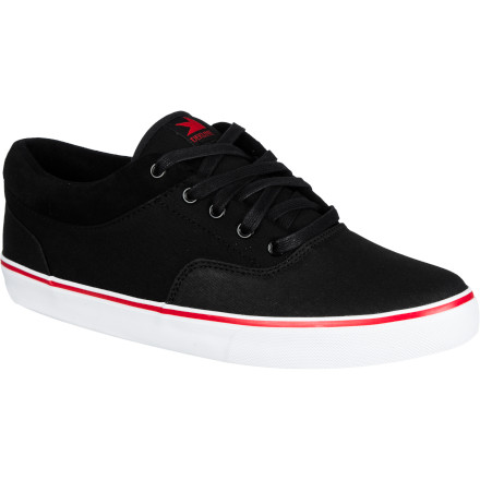 Skateboard The Dekline Keaton Skate Shoe offers a skateably slim profile and the classic looks and next-level board feel of a vulc sole. - $47.96