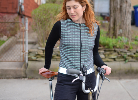 Fitness Vespertine's Road Hog is a high-fashion tweed vest that does more than just look good. Article by Constance Winters posted April 29, 2013