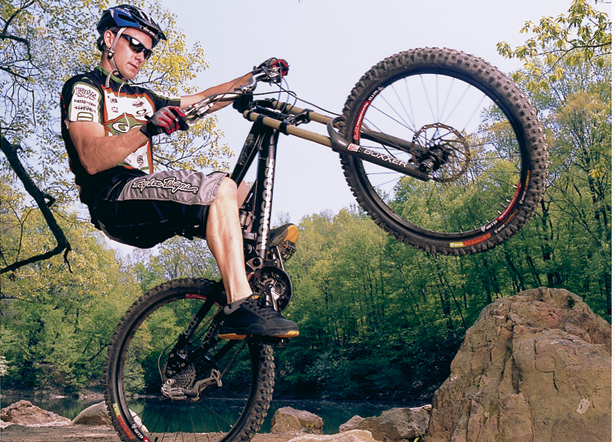 MTB Master Seven Road and Mountain Bike Tricks. Article by the Bicycling Test Staff
