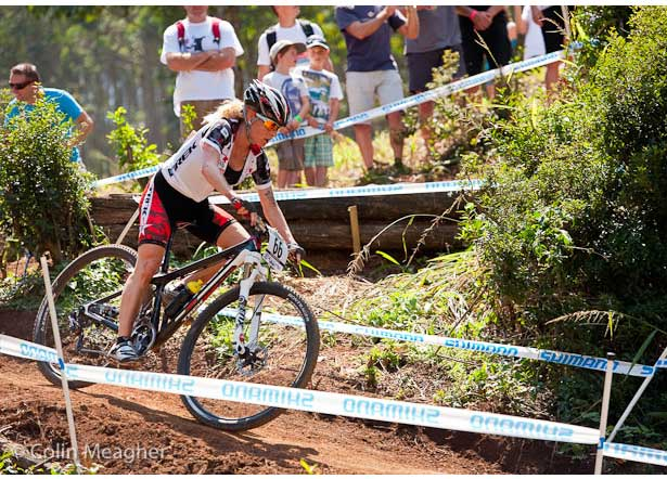 MTB Sprint Like You Mean It.  Willow Rockwell shows you how to gun it for the finish line.