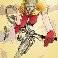 MTB The Whip - Expand upon your basic jumping skills.  Article by Brian Fiske